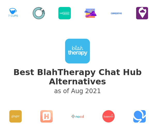 Best BlahTherapy Chat Hub Alternatives