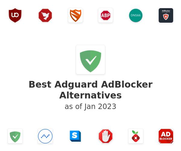 Best Adguard AdBlocker Alternatives