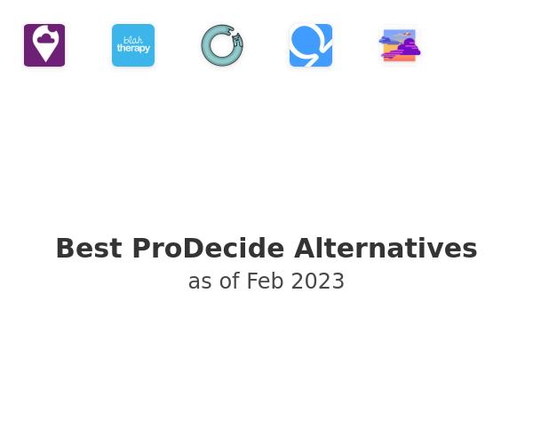 Best ProDecide Alternatives