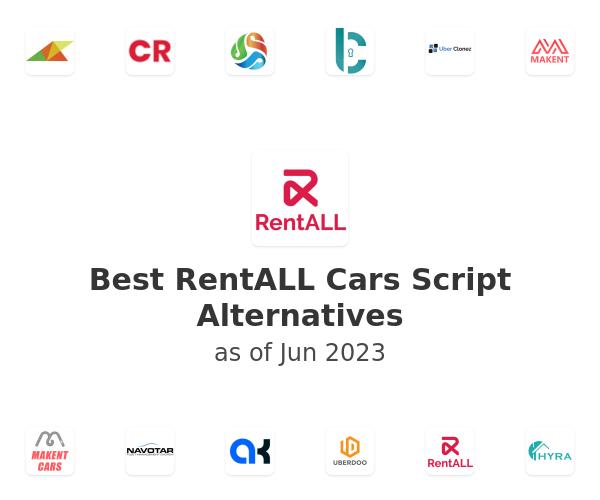 Best RentALL Cars Script Alternatives