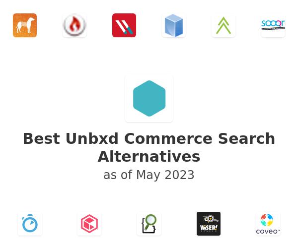Best Unbxd Commerce Search Alternatives