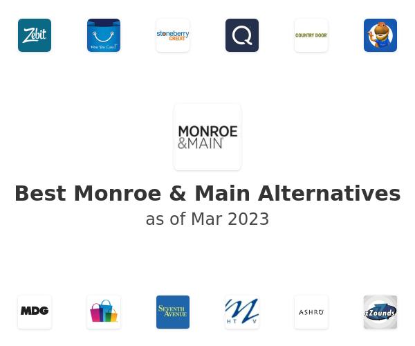 Best Monroe & Main Alternatives