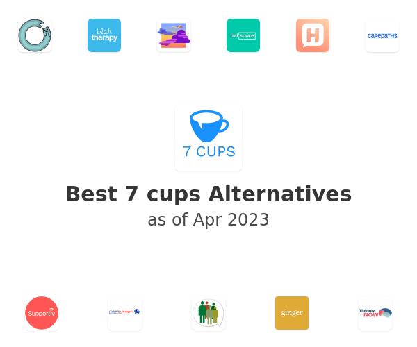 Best 7 cups Alternatives
