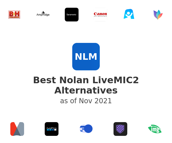 Best Nolan LiveMIC2 Alternatives
