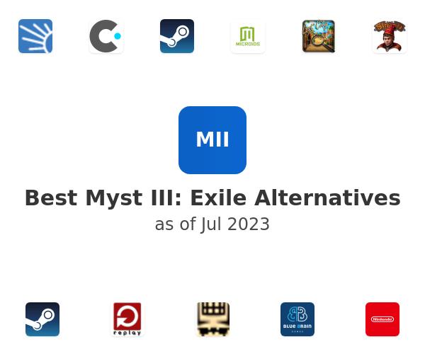 Best Myst III: Exile Alternatives