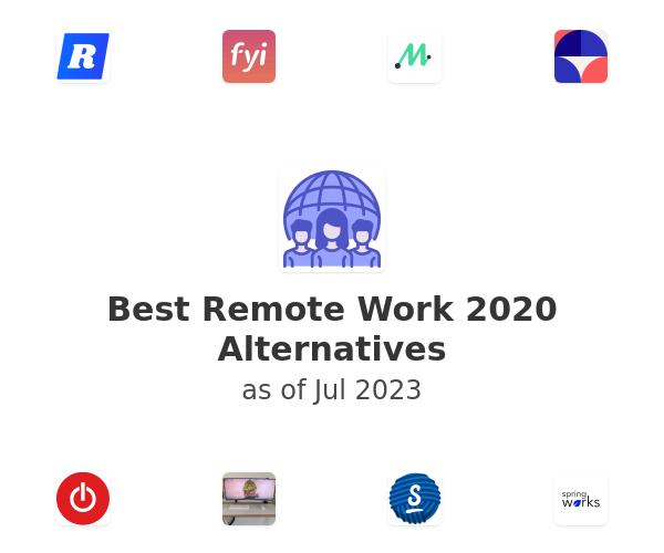 Best Remote Work 2020 Alternatives