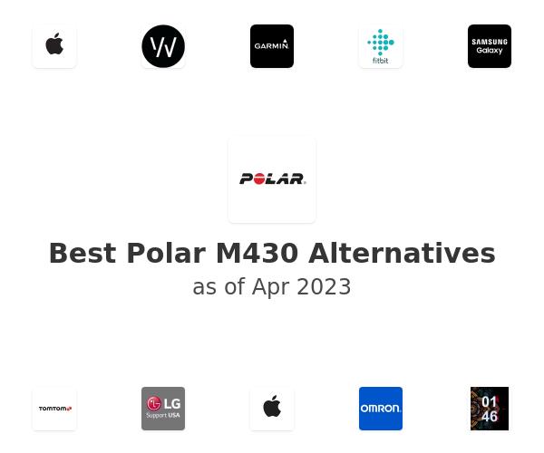 Best Polar M430 Alternatives