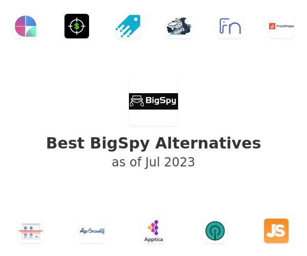 Best BigSpy Alternatives