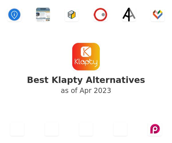 Best Klapty Alternatives