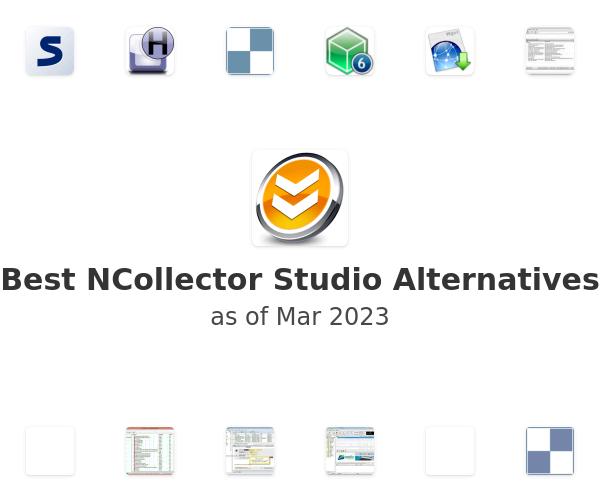 Best NCollector Studio Alternatives