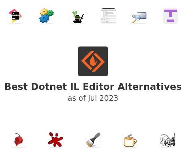 Best Dotnet IL Editor Alternatives
