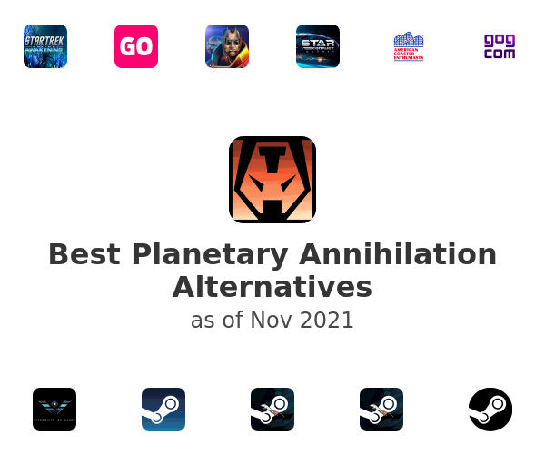 Best Planetary Annihilation Alternatives