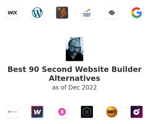 Best 90 Second Website Builder Alternatives