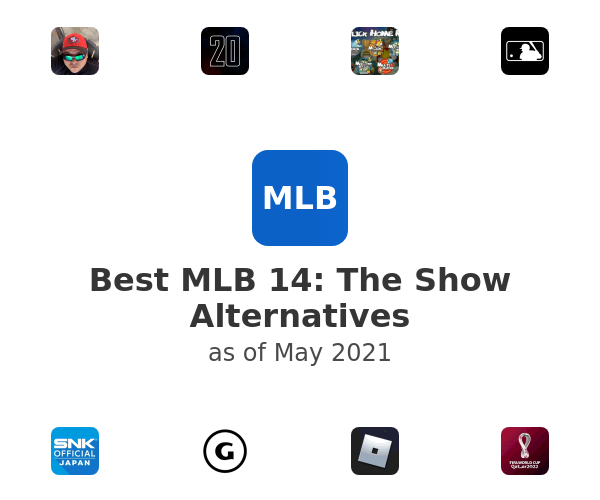 Best MLB 14: The Show Alternatives