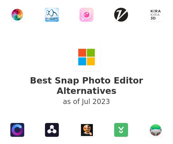 Best Snap Photo Editor Alternatives