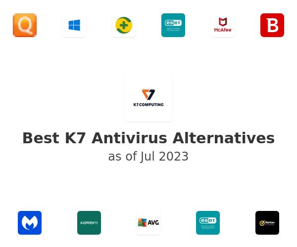 Best K7 Computing Total Security Alternatives