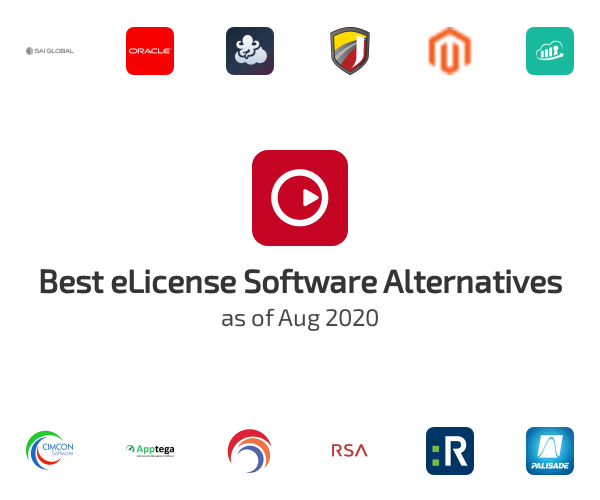 Best eLicense Software Alternatives