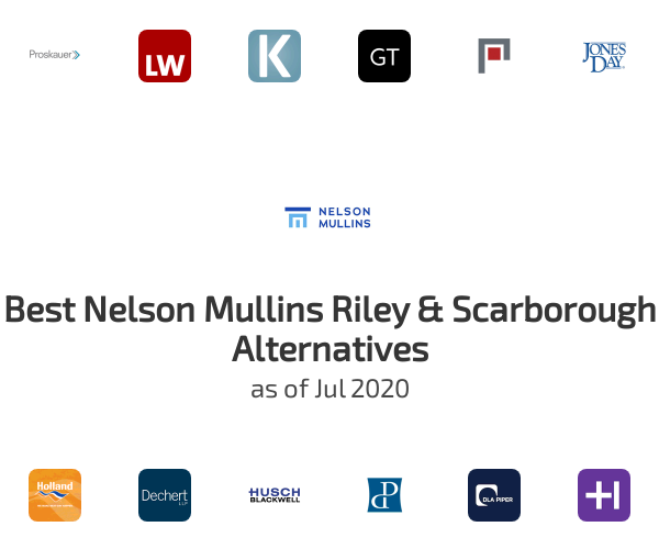 Best Nelson Mullins Riley & Scarborough Alternatives