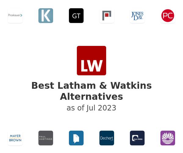 Best Latham & Watkins Alternatives