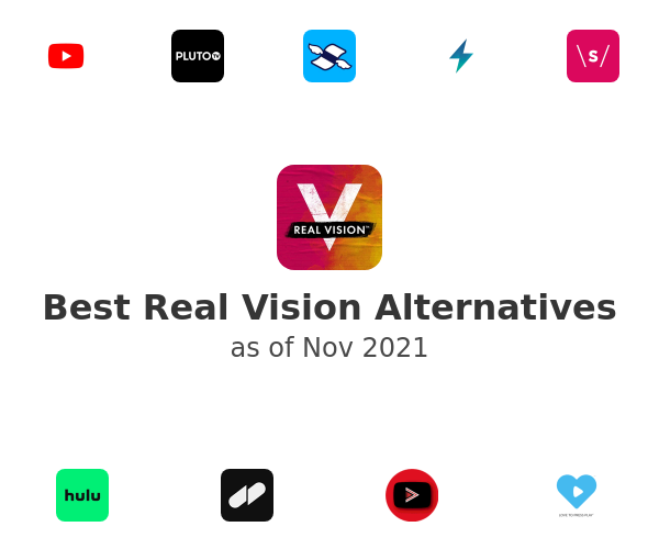 Best Real Vision Alternatives
