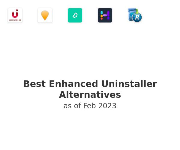Best Enhanced Uninstaller Alternatives