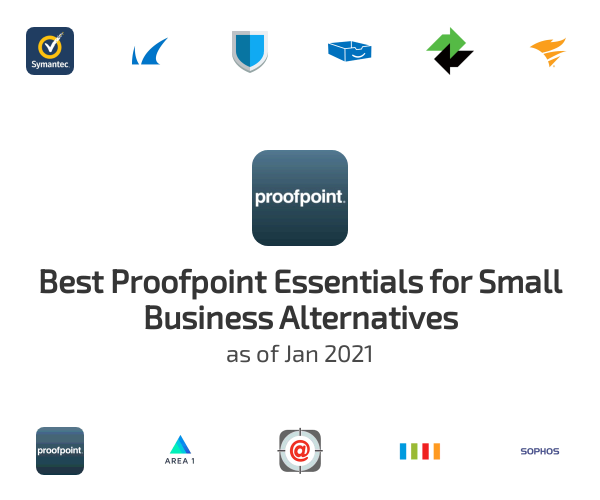Best Proofpoint Essentials for Small Business Alternatives