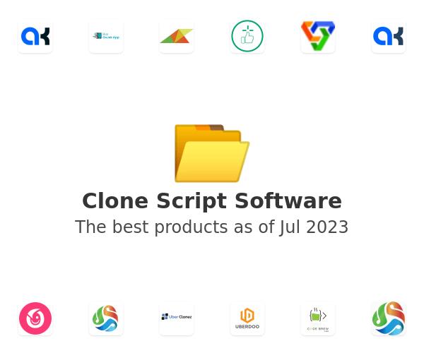 Clone Script Software