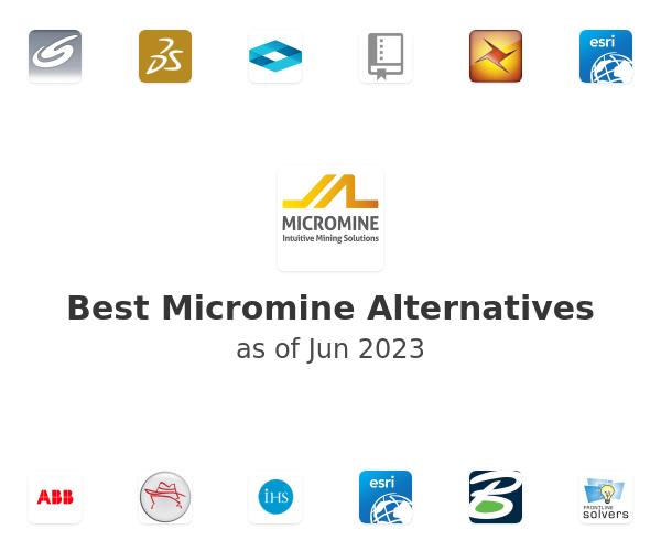 Best Micromine Alternatives