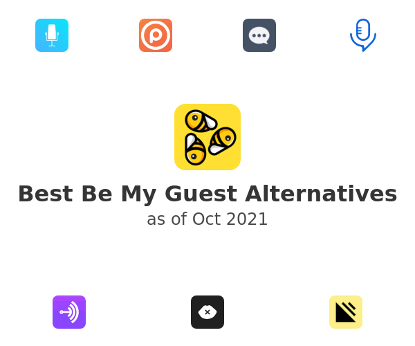 Best Be My Guest Alternatives