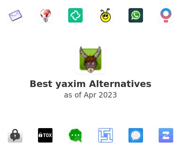 Best yaxim Alternatives