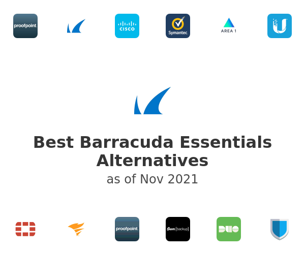 Best Barracuda Essentials Alternatives