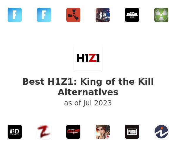 Best H1Z1: King of the Kill Alternatives
