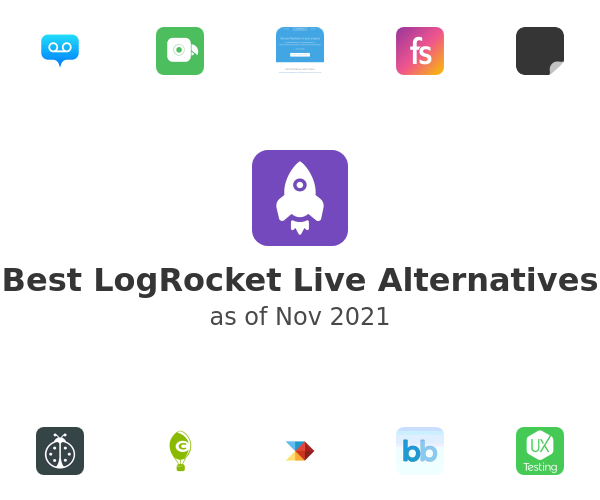 Best LogRocket Live Alternatives