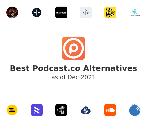 Best Podcast.co Alternatives