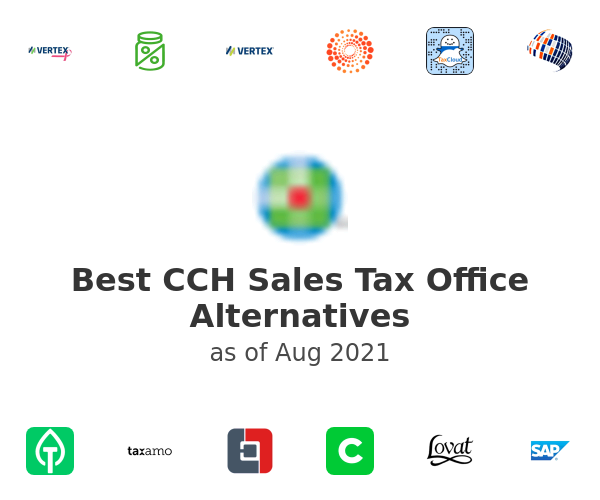 Best CCH Sales Tax Office Alternatives