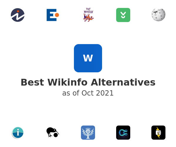 Best Wikinfo Alternatives