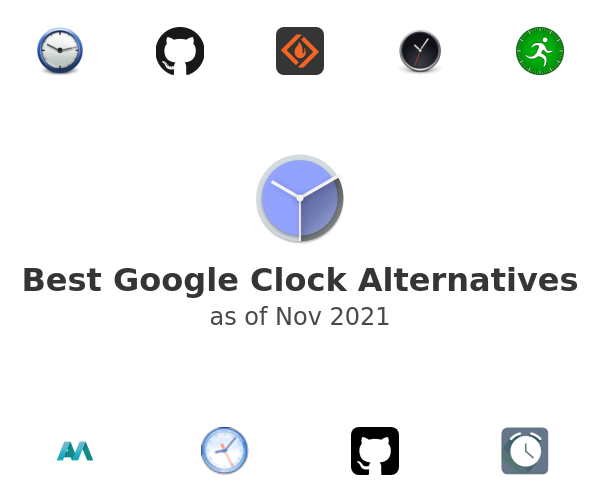 Best Google Clock Alternatives