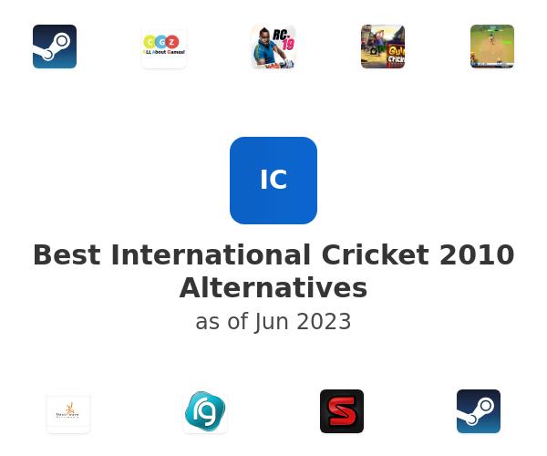 Best International Cricket 2010 Alternatives