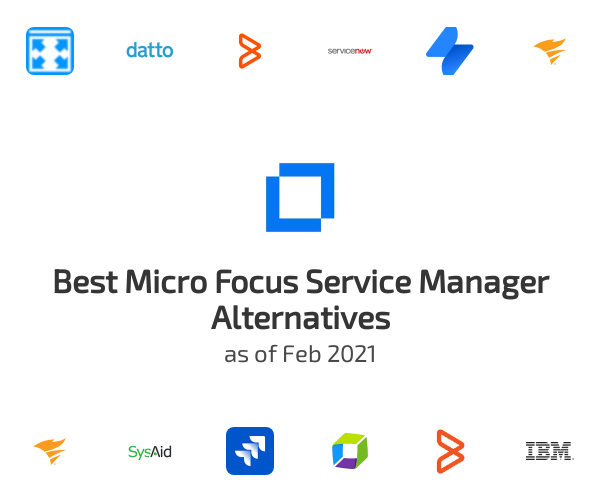 Best Micro Focus Service Manager Alternatives
