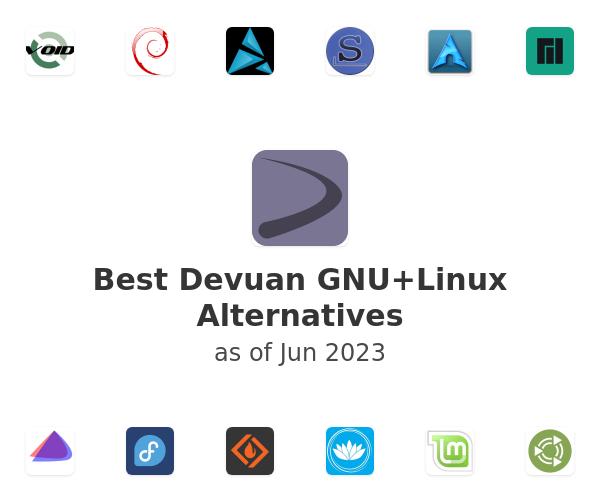 Best Devuan GNU+Linux Alternatives