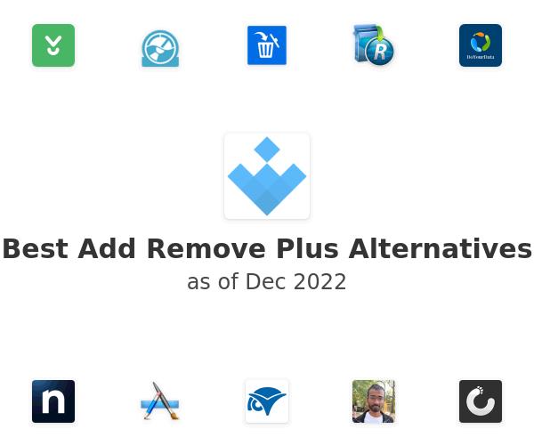 Best Add Remove Plus Alternatives
