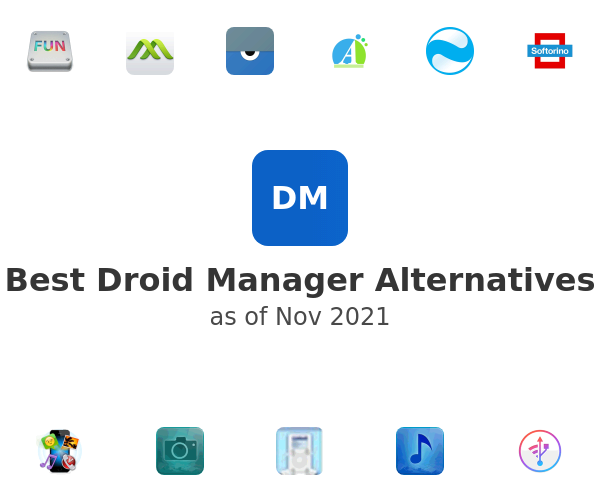 Best Droid Manager Alternatives