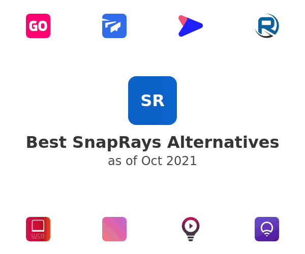 Best SnapRays Alternatives