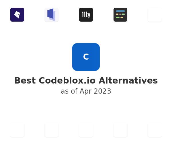 Best Codeblox Alternatives