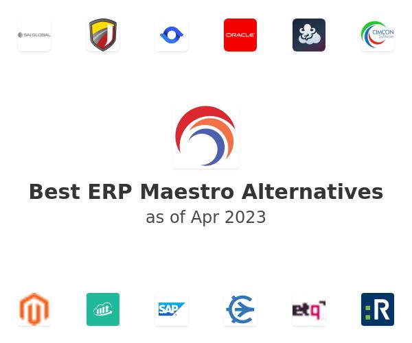 Best ERP Maestro Alternatives