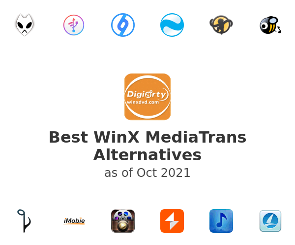 Best WinX MediaTrans Alternatives