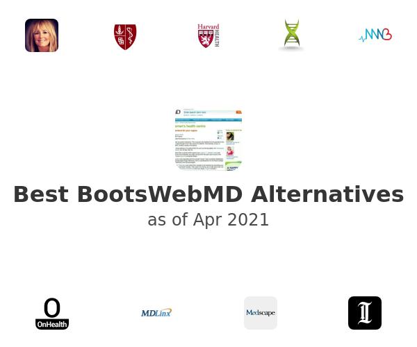 Best BootsWebMD Alternatives