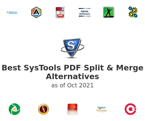 Best SysTools PDF Split & Merge Alternatives