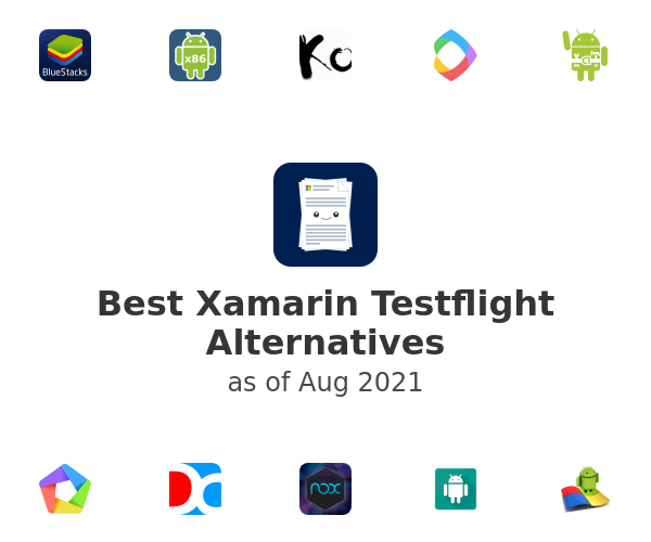 Best Xamarin Testflight Alternatives