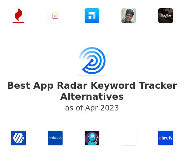 Best App Radar Keyword Tracker Alternatives